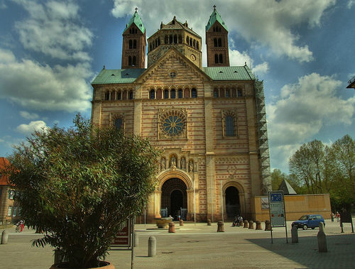 Dom zu Speyer By: gravitat-OFF